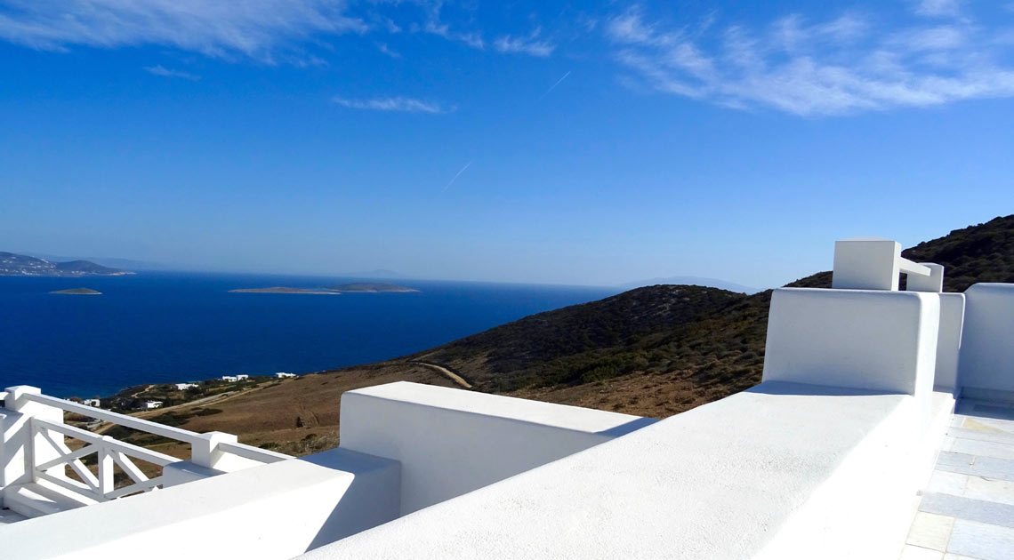 Overlooking the Aegean Sea, Antiparos Island Cyclades