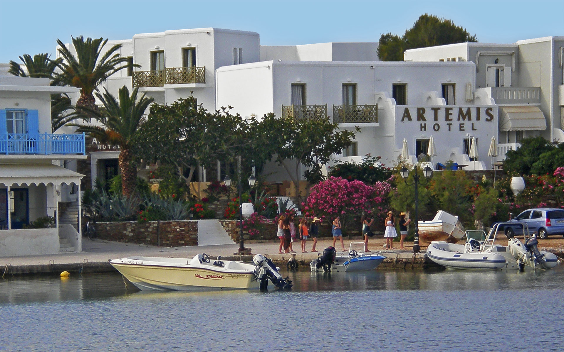Antiparos Greece – Hotel Artemis